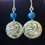 How TO make Silver Clay Earrings